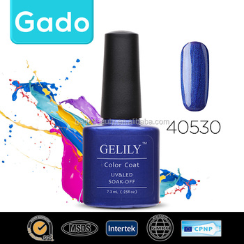 Gado hot sell perfect nail Led Uv Soak Off Nail Gel Polish 1407