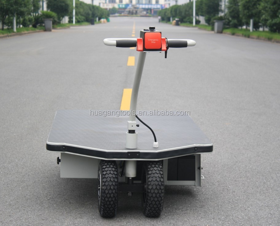 Electric Flatbed Trolley