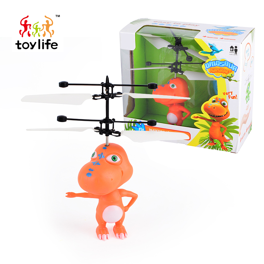 Very fun dinosaur modeling flight helicopter mini control rc flying dragon for children