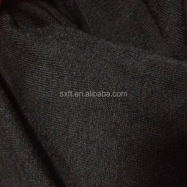 5% polyester 95% rayon blend knit fabric