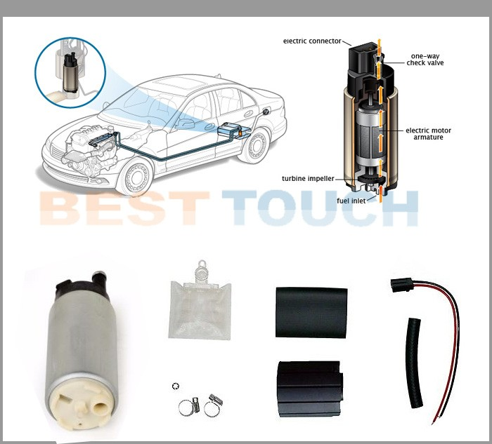 universal fuel pump spare parts pump fuelKit Replaces for Toyota