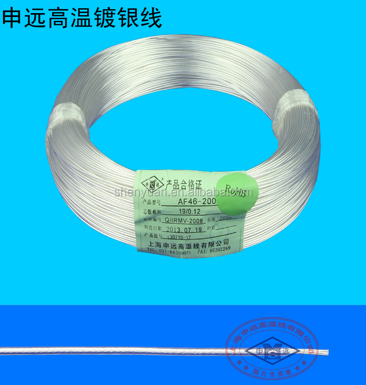 teflon flexible electrical cable wire with tinned copper conductor