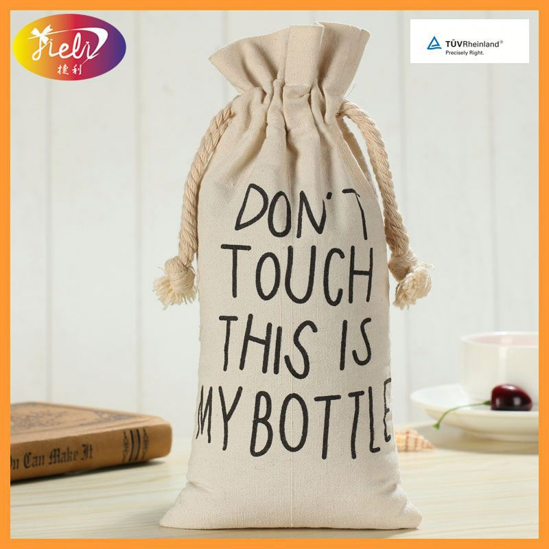 Top Selling Custom Silver Logo Canvas Cotton Net Tote Bag with low price