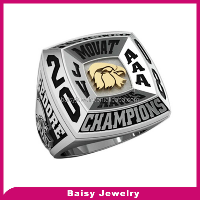 Wholesale manufacturer custom design replica football championship rings