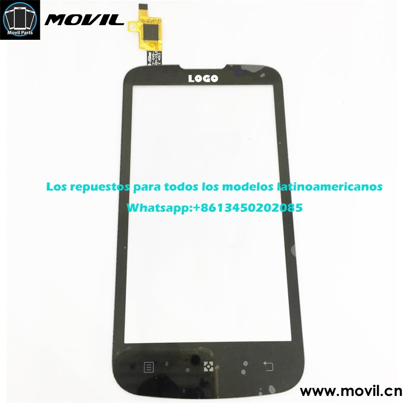 One by one tested lcd display for lenovo A800 touch screen,front glass touch panel for Lenovo with fast delivery