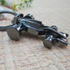 The Lastest Of Motorcycle Keyring Self-regulating 3D Keyring