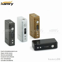 e-cigarette fashion box mod new ecig 7-23w kamry 20 vape mod