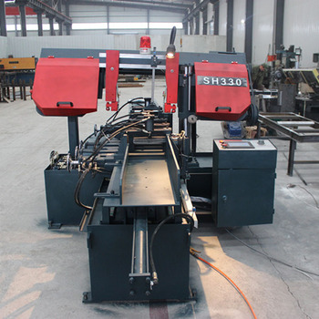 PLC Controlled Metal Cutting Bandsaw Machine Manufacturer