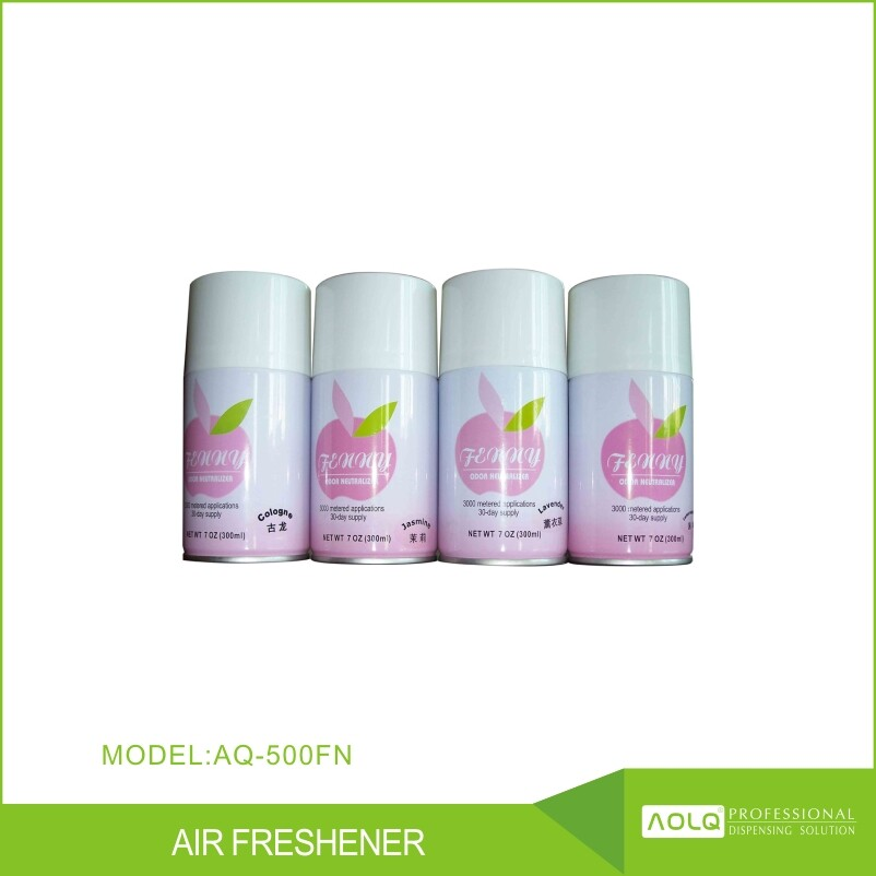 Hot sell 300ml Aerosol Air Freshener Refill Cans For Dispensers