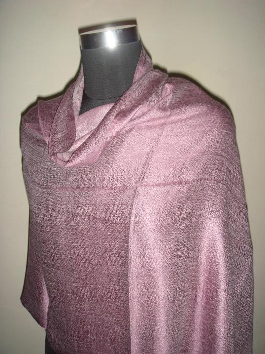 Natural Silk & Wool Iridescent Pashmina Shawls And Scarves
