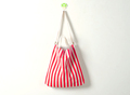 Hot Sale Cheapest Customized Promotion Stripe Color Cotton Canvas Handle Shoulder Bags