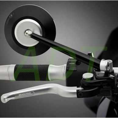 High End Motorcycles CNC Bar End Mirror