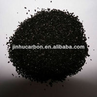 Vegetable oil activated carbon black