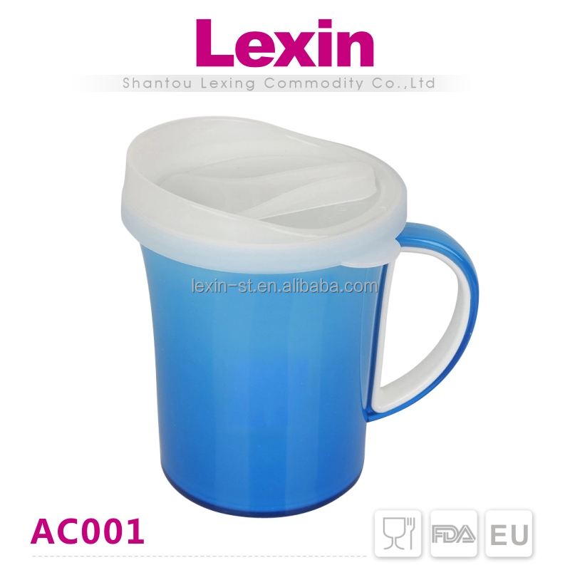 high capacity large double wall non disposable plastic cups