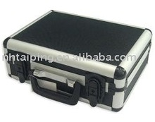 Fashion durable black low cost aluminum tool case &briefcase