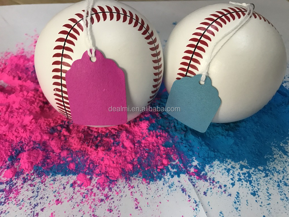 DEMI Wholesale baby shower exploding baseball gender reveal ball party supplies