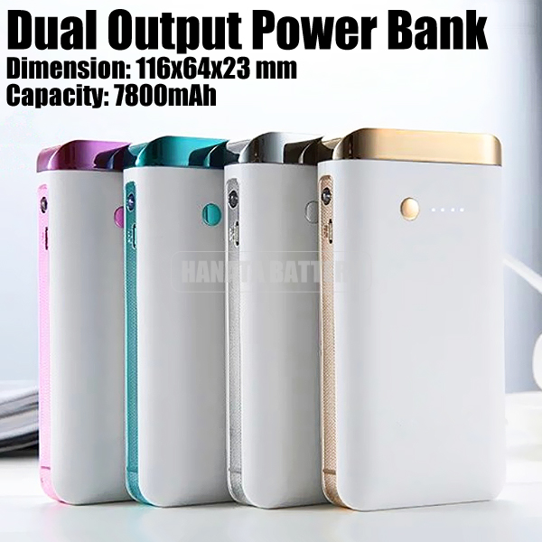 New Design Portable Dual USB Power Bank for Samsung Galaxy Tab Made in China