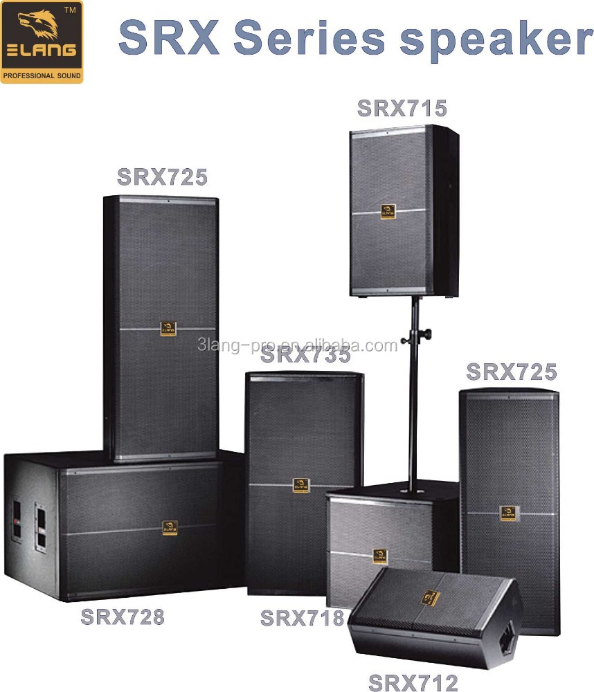 SRX Series professional audio system music sound bar speaker concert speaker stage speaker