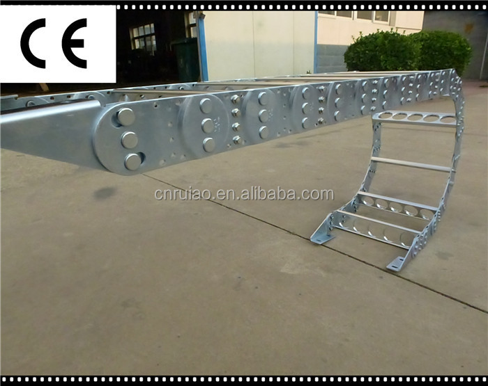 heavy load type steel cable drag chain cable chain track china supplier