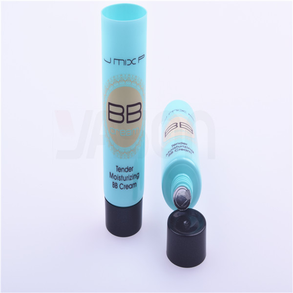 Colored Empty Cream Tube Small Plastic Container With Lid