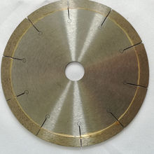 Super Fast Smooth Cutting Continuous Rim J Slot Diamond Saw Blade for Tile Ceramic Porcelain Granite Marble