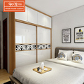 American style bedroom furniture custom-tailor wooden cupboard designs of bedroom white wardrobe