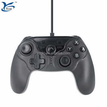 Newest usb wired joystick USB controller for Nintendo Switch NS with double shock