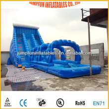 inflatable great water slide exciting sliding chute