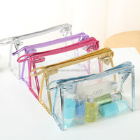 simple clear PVC cosmetic bag cheep price wholesale online