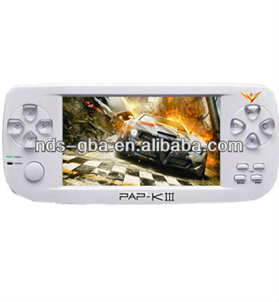 newest design 128 bits digital handheld game player/game console PAP-KIII