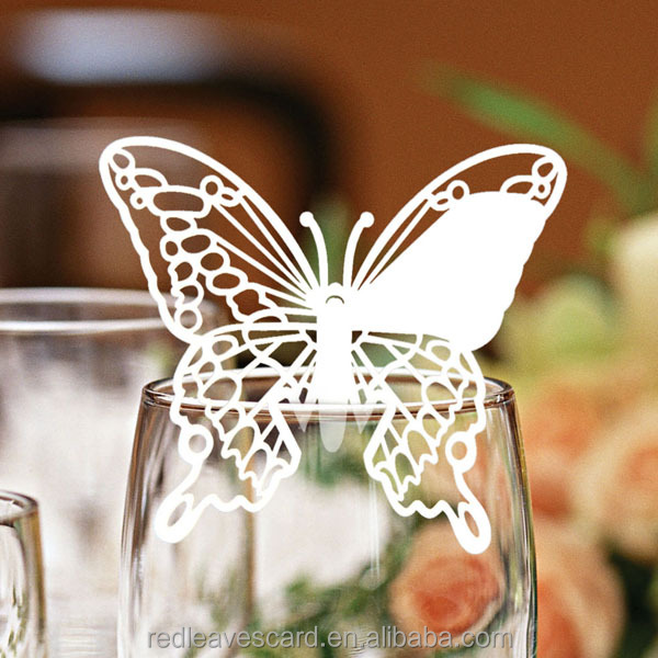 Butterfly decorations elegant table elephant place card holder for <strong>weddings</strong>
