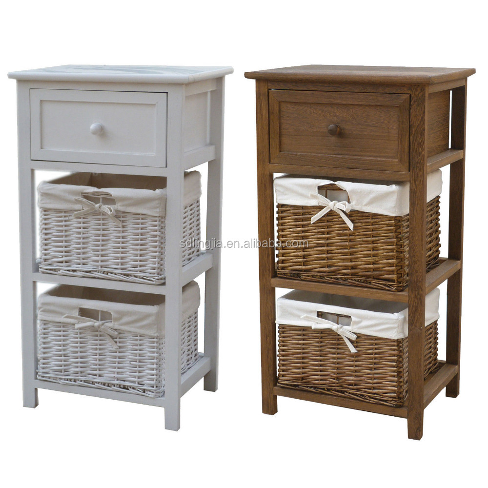 Living Room Rattan Wicker Cabinet Wood Child Home Oak Furniture Poland