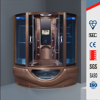M-9040 Walk in tub shower box bath combo, portable sauna steam room for sale, luxury steam shower room cabin price