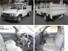 2000 Used car TOYOTA HILUX PICKUP TRUCK DX/PickUp/RHD/23700km/Gas/Petrol/White