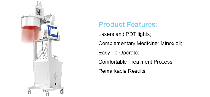 Newest Laser Hair Growth Equipment Ce Approved Diode Laser Rejuvenation/faster hair growth products