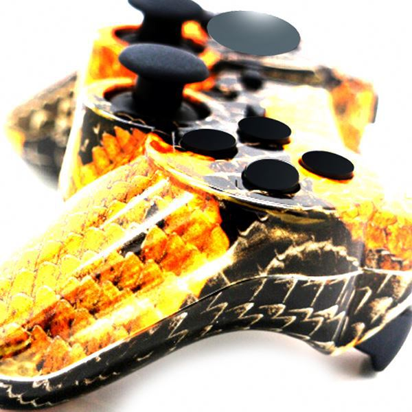 New For Ps3 Controller Black Yellow Remote