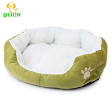 dog furniture supplies pet home plush round dog bed
