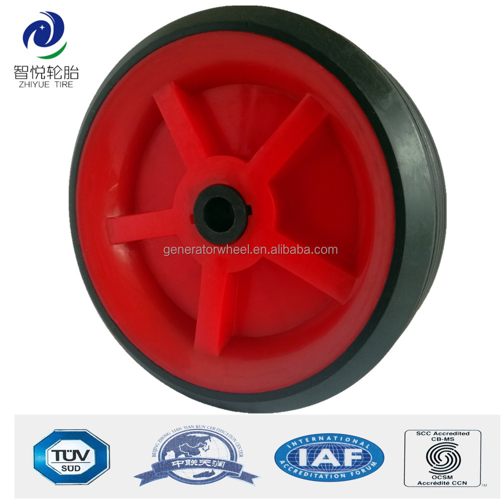 Hot sale 3 inch plastic wheel for shopping bag, dolly