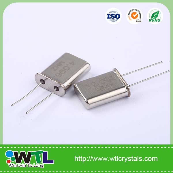 20.000MHz 20pF 30ppm Fe-cover HC-49/<strong>U</strong> passive component crystal oscillator