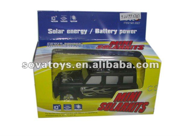 Solar Toy Mini Bus Toy