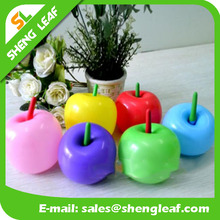 2017colorful shaped apple latex balloon