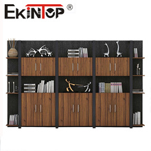 Office Furniture 6 Doors 2 Drawers Wooden Office Filling Cabinet
