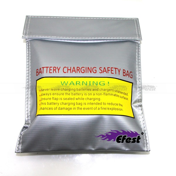 Efest LiPo Battery Safe Bag LiPo Guard Charger Protection Bag