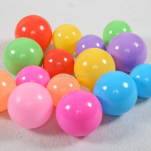 5.5cm 6cm 6.5cm 7cm 8cm Colorful Fun Plastic Soft Balls Baby Indoor Swim Toys Ocean Ball Pit Balls