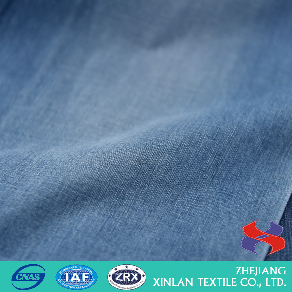 China Wholesale Factory Commercial floral printing cotton denim fabric