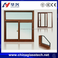 Thermal Break Heat Insulation Good Sealing Aluminum Sliding Window
