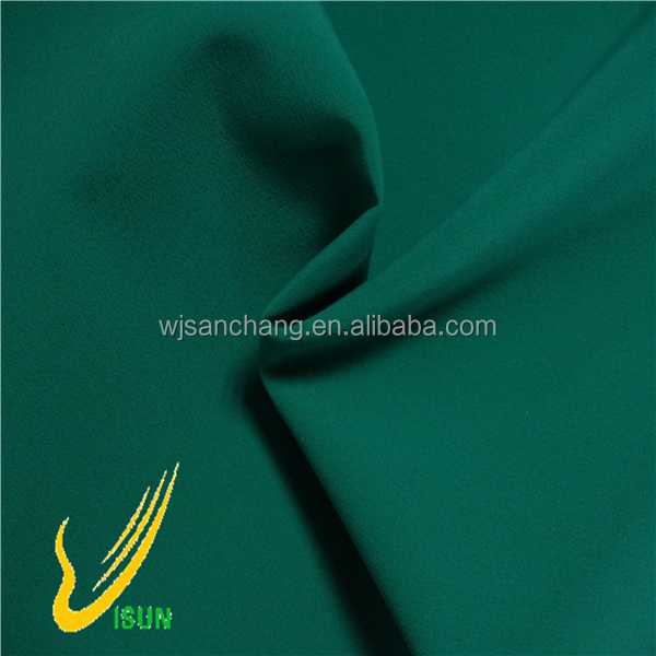 190t 100 polyester pongee lining waterproof fabric for down coat