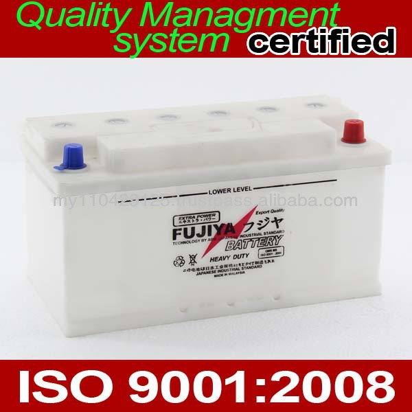 Car Battery DIN88 12V Dry Charged Low Maintenance