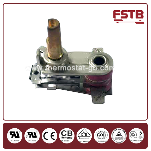 KST Bimetal Adjustable Thermostat for Toaster