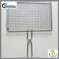 High quality chrome plated barbecue grill wire mesh
